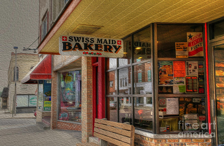 Swiss Maid Bakery Photograph