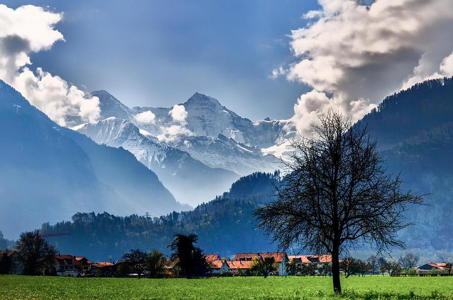Switzerland Landscape Photograph By Ed Fiske