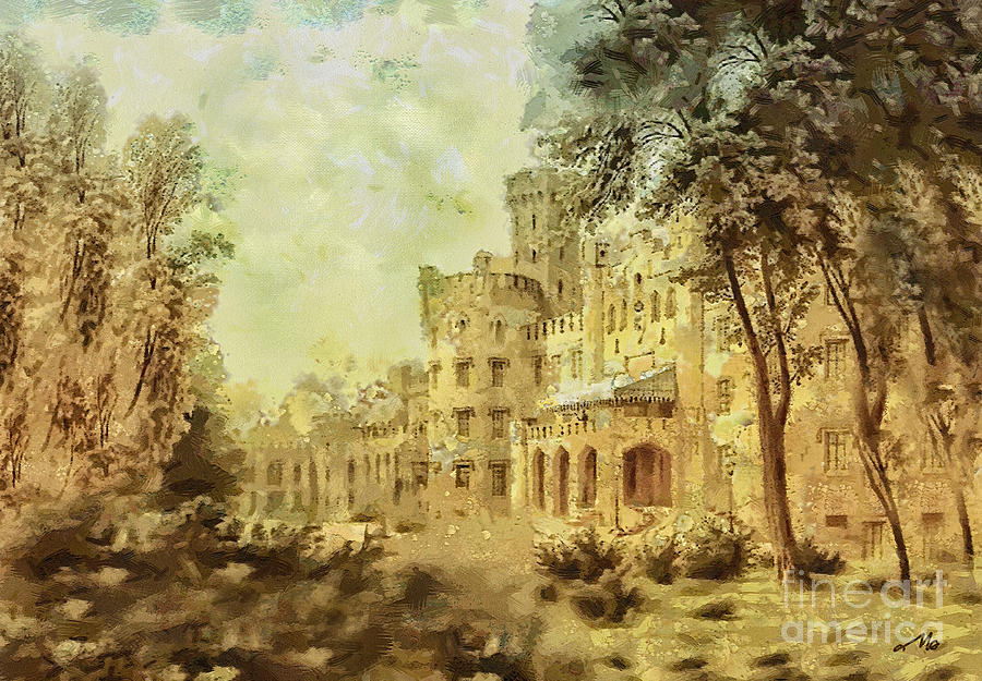 Sybillas Palace Painting
