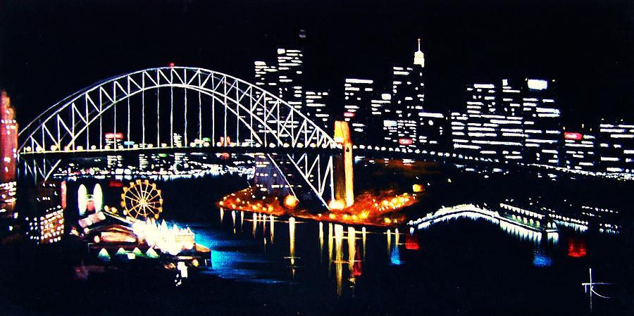 Sydney Painting - Sydney by Thomas Kolendra