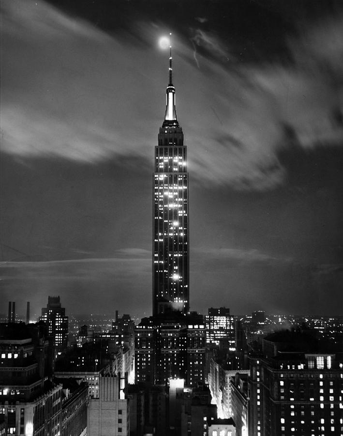 Empire Photograph - New York City by Retro Images Archive