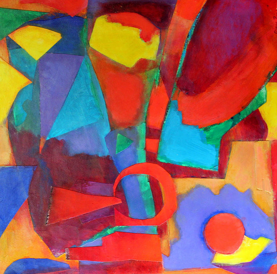Abstract Expressionism Mixed Media - Syncopated by Diane Fine