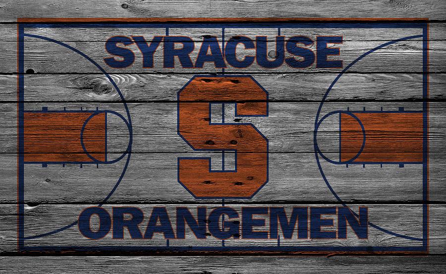 Orangemen Photograph - Syracuse Orangemen by Joe Hamilton