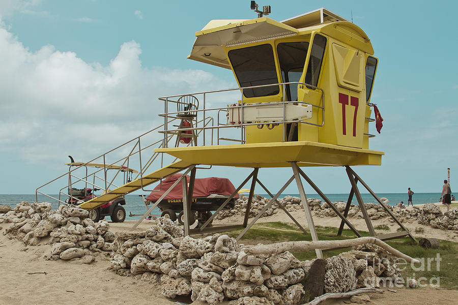 T7 - Baldwin Beach Park Maui Photograph