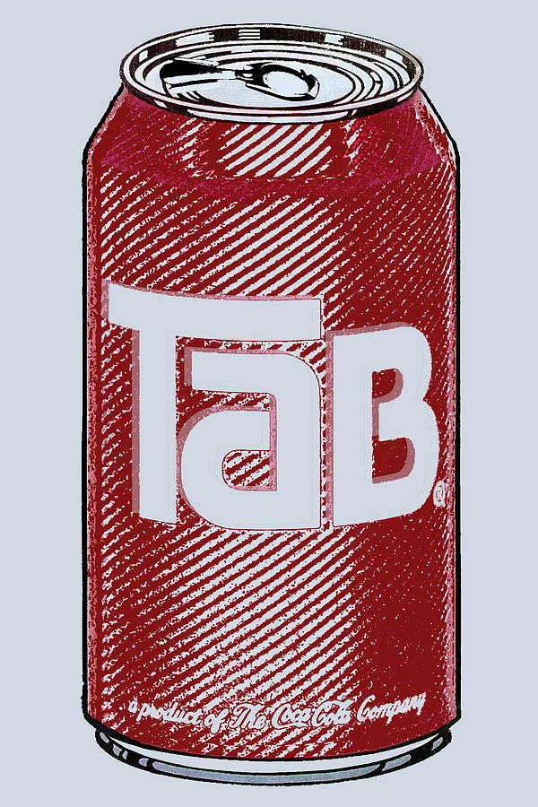 Tab Ode To Andy Warhol Painting