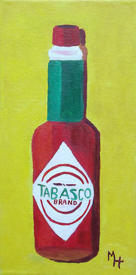 Tabasco Brand Pepper Sauce Painting
