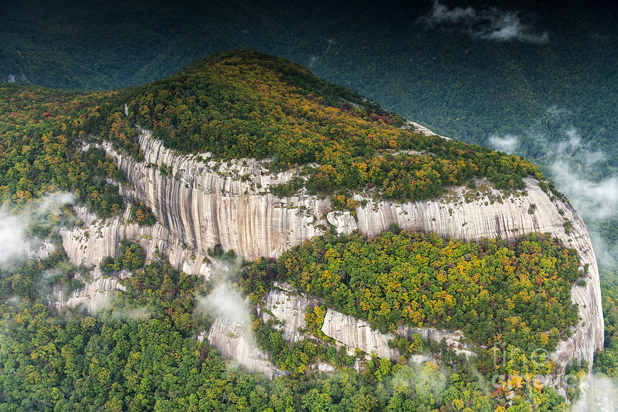 Table Rock Moutain In Table Rock State Park Aerial Photo by ...