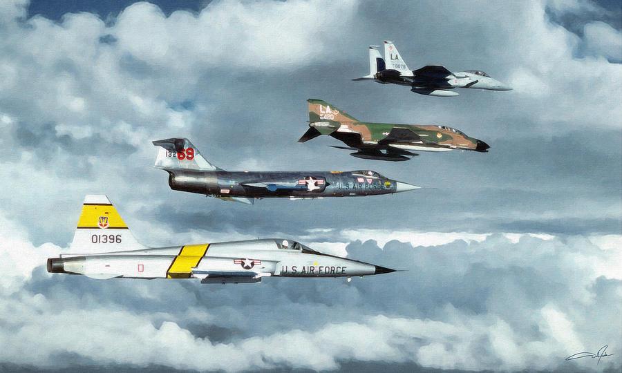 F-4c Digital Art - TAC by Dale Jackson