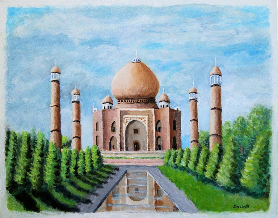 Taj Mahal by Gregory Dorosh