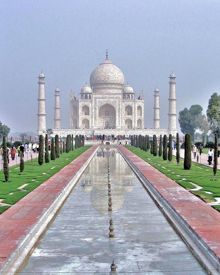 Taj Mahal Photograph - Taj Mahal by Kim Bemis