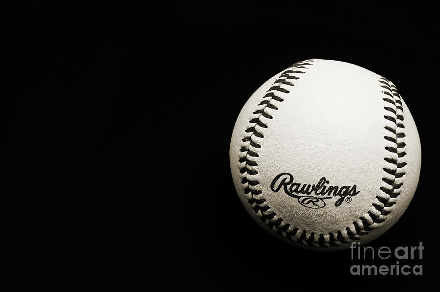 Take Me Out To The Ball Game - Baseball Season - Sports - B W Photograph  - Take Me Out To The Ball Game - Baseball Season - Sports - B W Fine Art Print