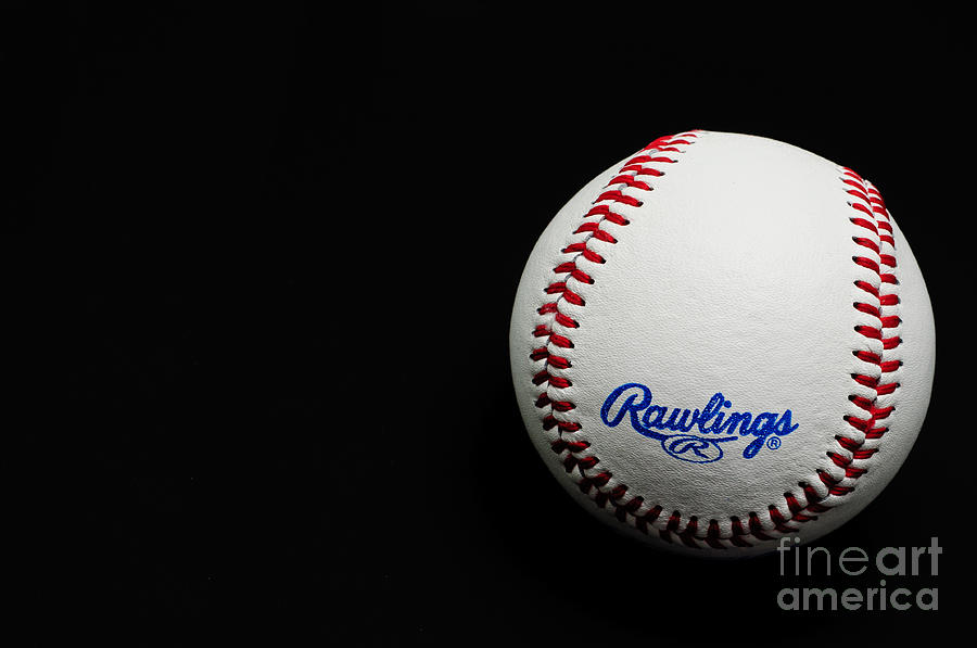 Take Me Out To The Ball Game - Baseball Season - Sports - Red White And Blue Photograph  - Take Me Out To The Ball Game - Baseball Season - Sports - Red White And Blue Fine Art Print