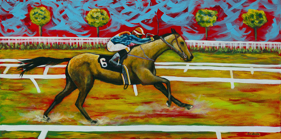 Taking The Lead Painting  - Taking The Lead Fine Art Print
