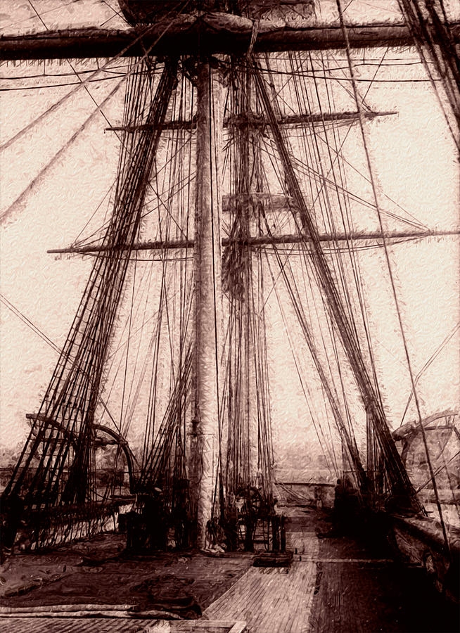 Tall Ship Painting
