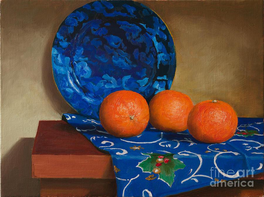 Tangerines Painting