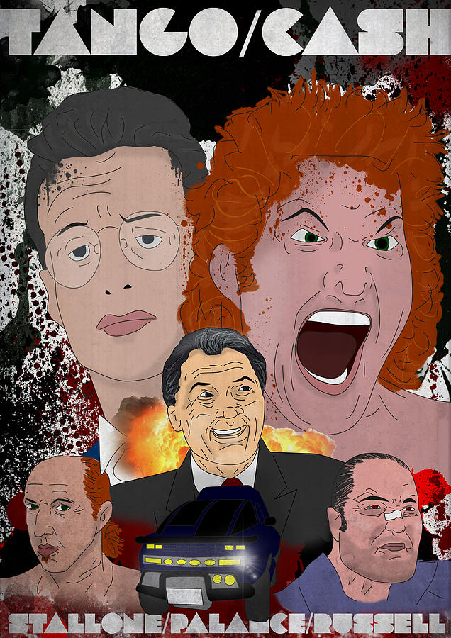 Tango And Cash Drawing