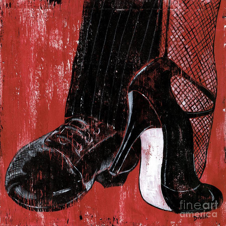 Dance Painting - Tango by Debbie DeWitt