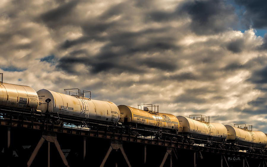 Tankers Photograph - Tank Cars by Bob Orsillo