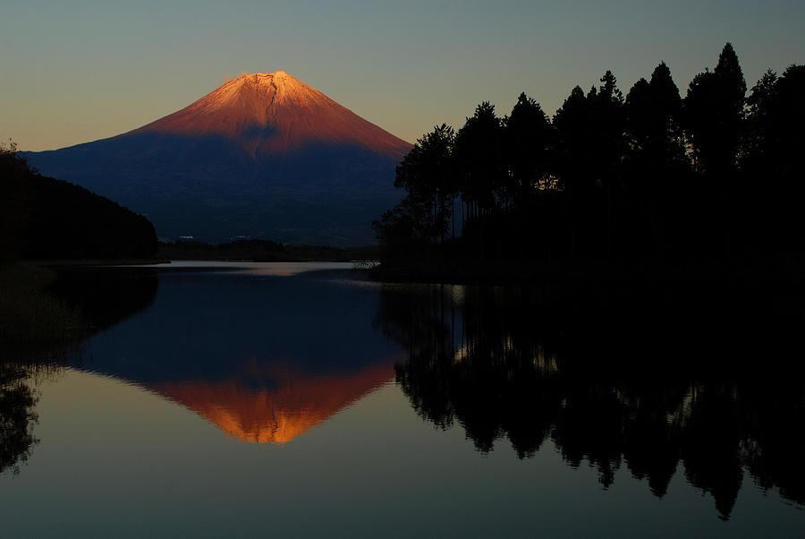 Mount Fuji Photograph - Tanukiko Fuji by Aaron S Bedell