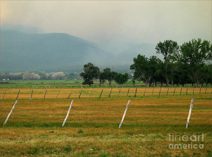Taos Fields Photograph  - Taos Fields Fine Art Print