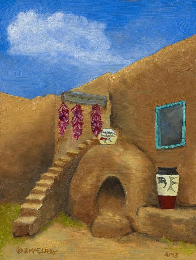 Taos Poetry Painting