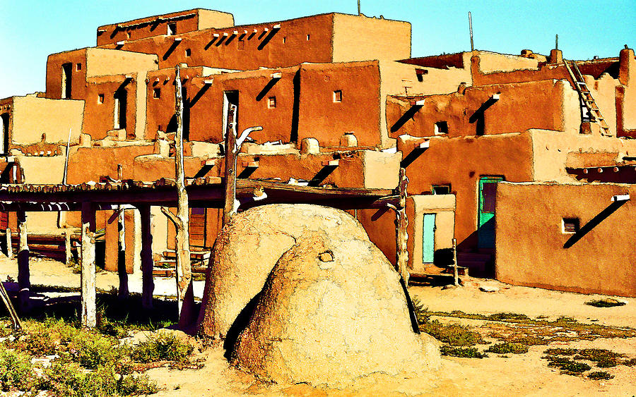 Taos Pueblo II Photograph
