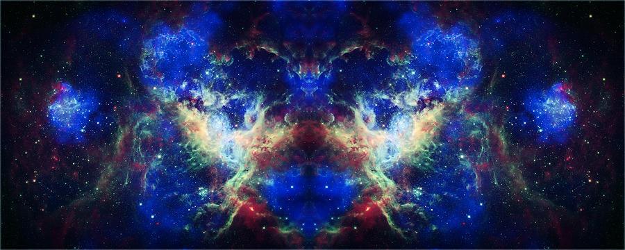 Tarantula Nebula Reflection Photograph