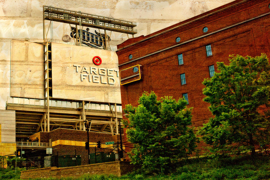 Target Field Home Of The Minnesota Twins Digital Art  - Target Field Home Of The Minnesota Twins Fine Art Print