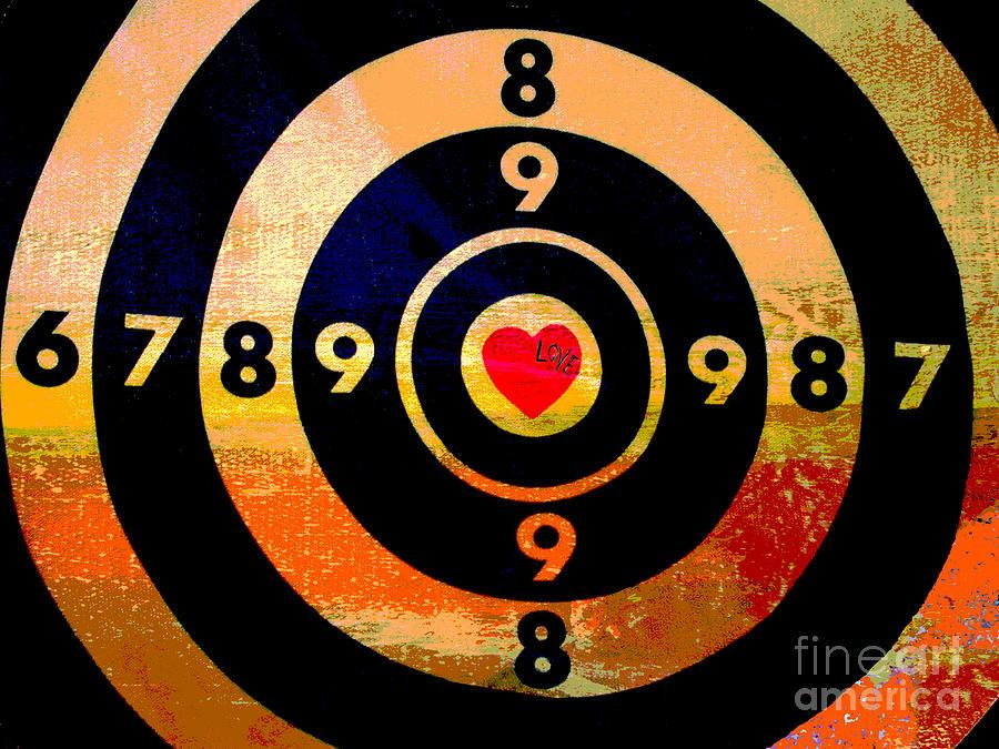 Target Love Digital Art