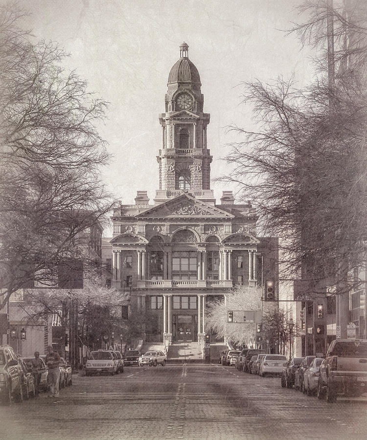 Tarrant County Courthouse Photograph
