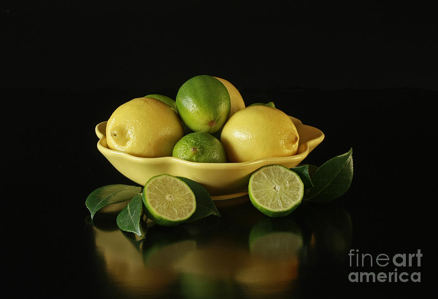 Tart And Tasty With Lemon And Lime Photograph
