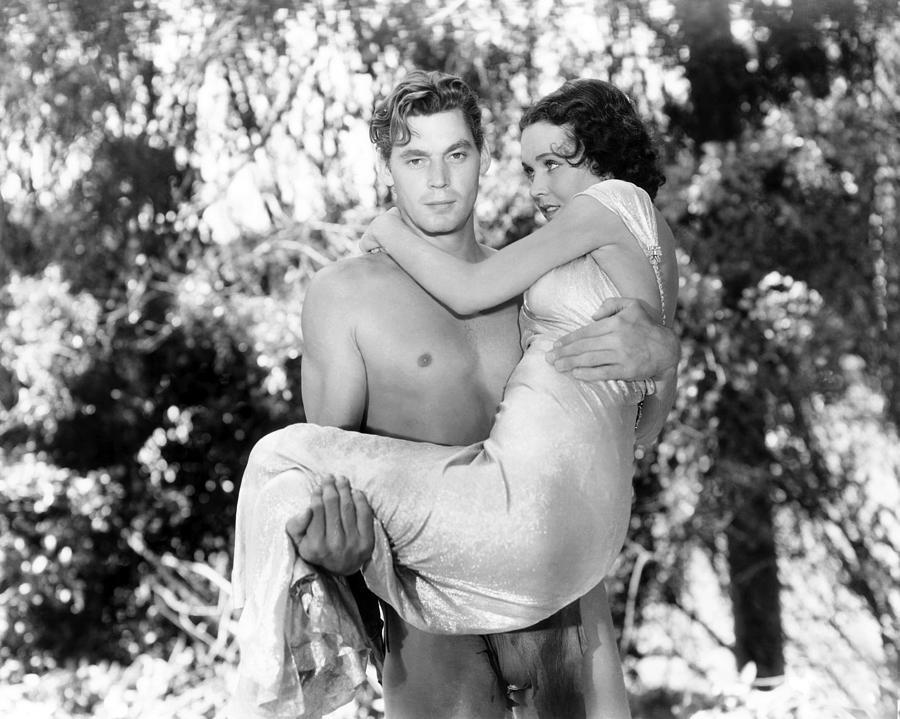 Tarzan of The Apes Movie Johnny Weissmuller Tarzan The Ape Man Johnny