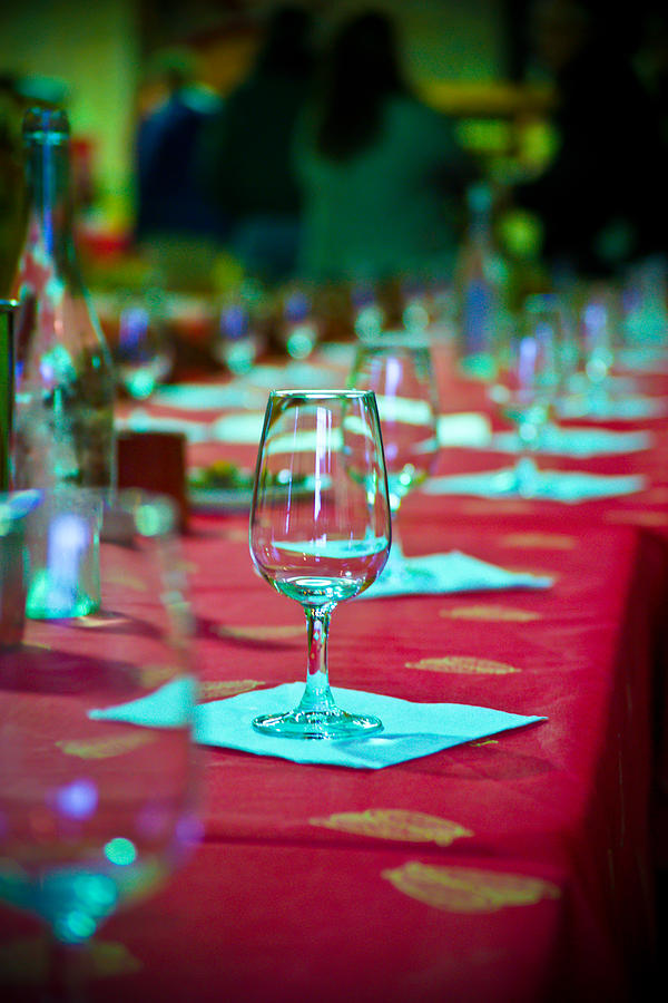 Wine Photograph - Tasting In Red by Kent Nancollas