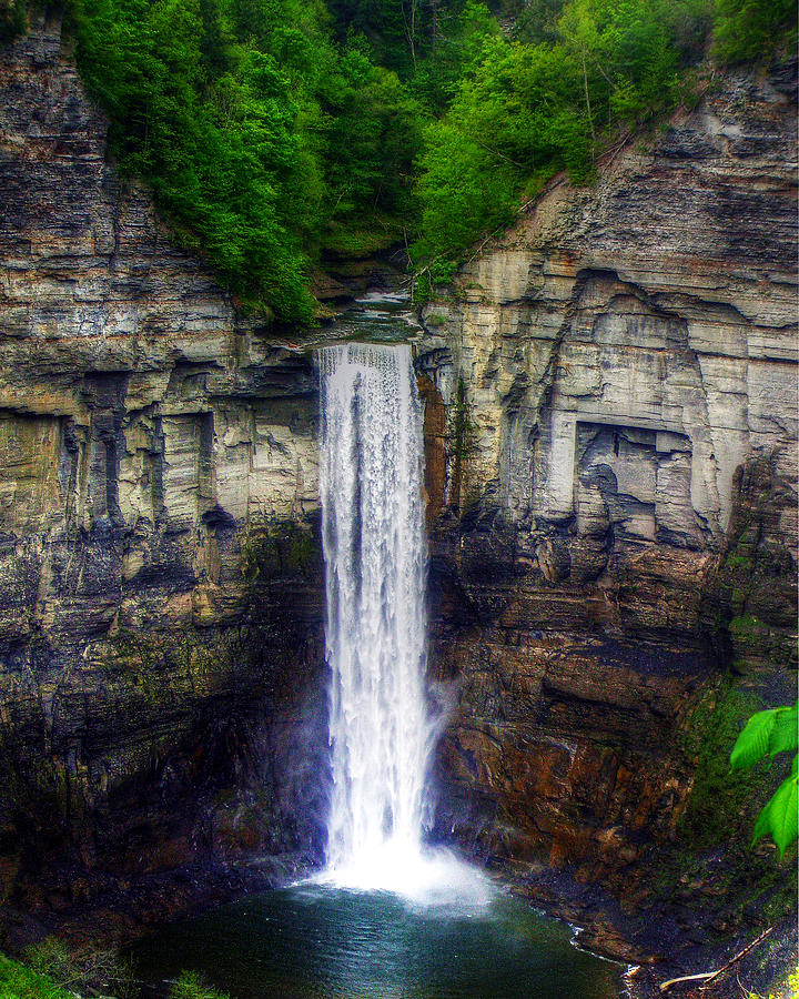 Taughannock Falls Photograph - Taughannock Falls Ulysses Ny by Tim Buisman