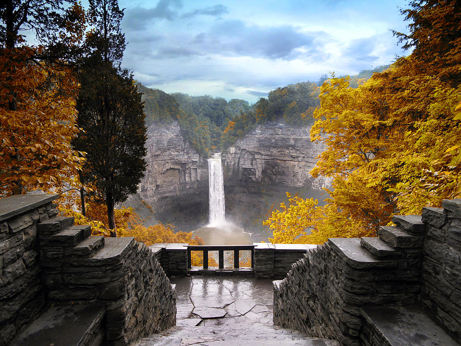 Taughannock In Autumn Photograph