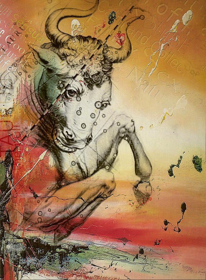 Taurus Painting - Taurus  by Corporate Art Task Force