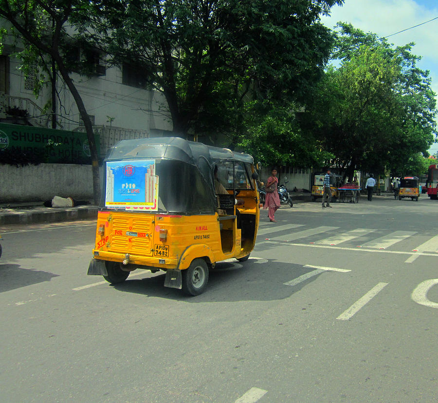 Taxi India Style Photograph