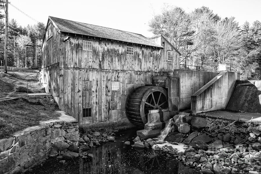 Taylor Sawmill - Derry New Hampshire Usa Photograph  - Taylor Sawmill - Derry New Hampshire Usa Fine Art Print