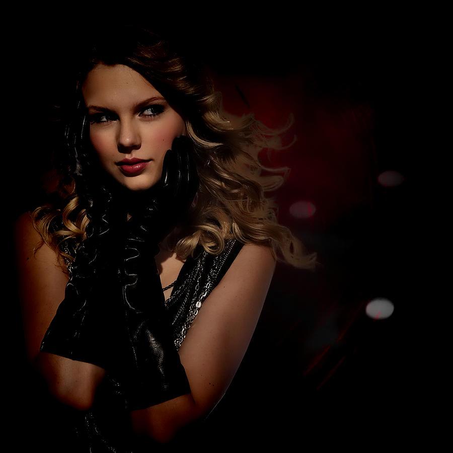 Taylor Swift Digital Art - Taylor Swift by Anibal Diaz