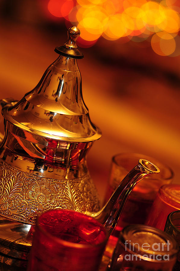Tea Arab Photograph  - Tea Arab Fine Art Print