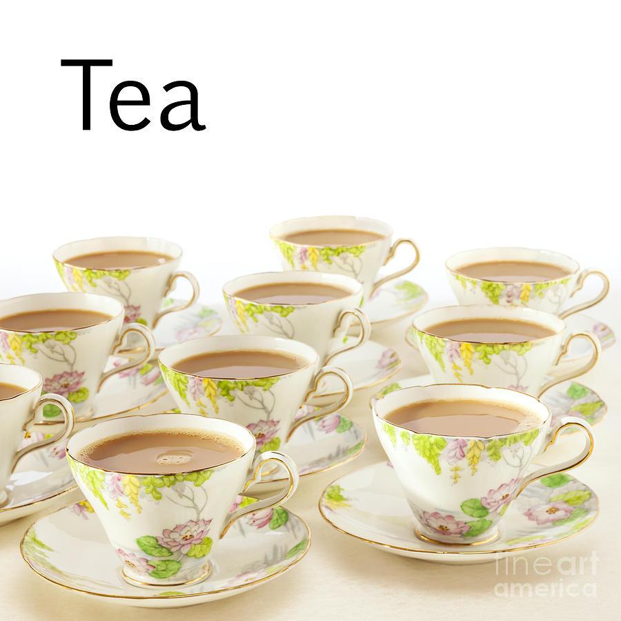 Tea Photograph - Tea Concept by Colin and Linda McKie