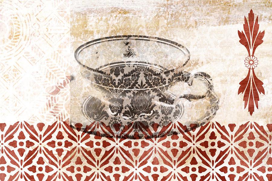 Tea House Mixed Media