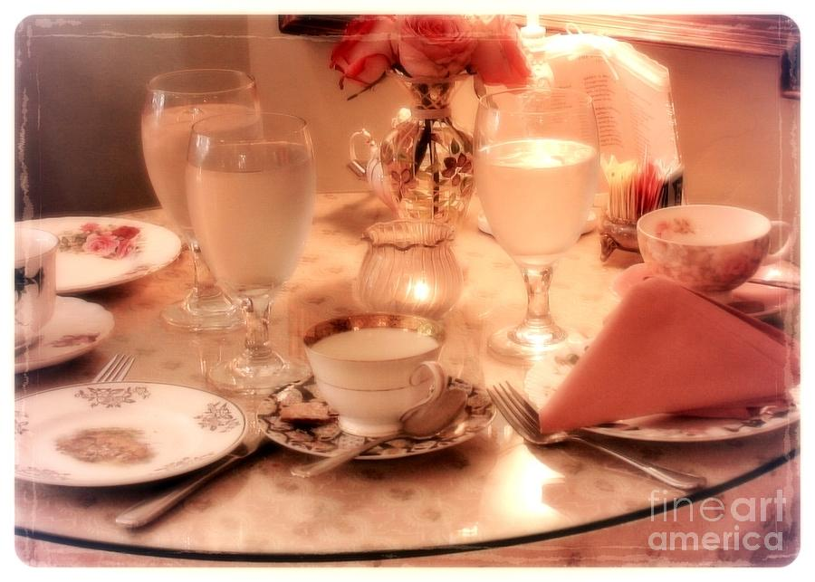 Tea Time Photograph  - Tea Time Fine Art Print