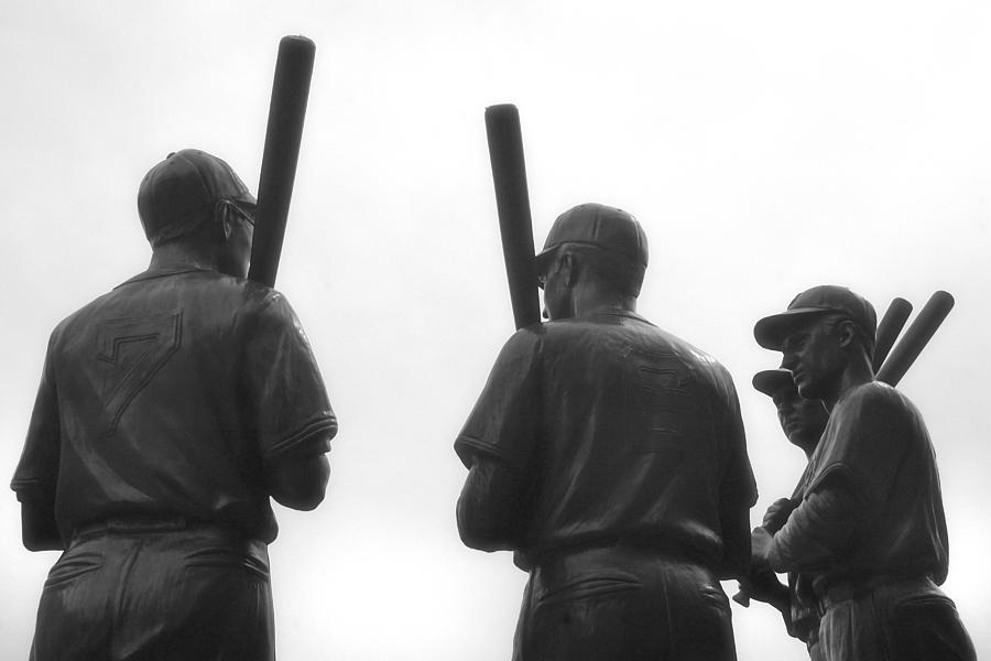 Bobby Doerr Photograph - Teammates by Joann Vitali