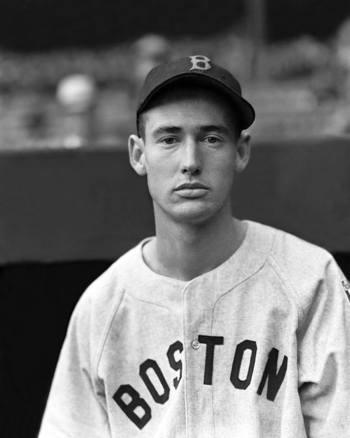 Ted Williams Rookie Photograph