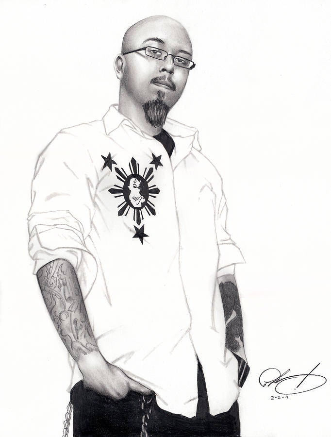 Teflon Don Drawing  - Teflon Don Fine Art Print