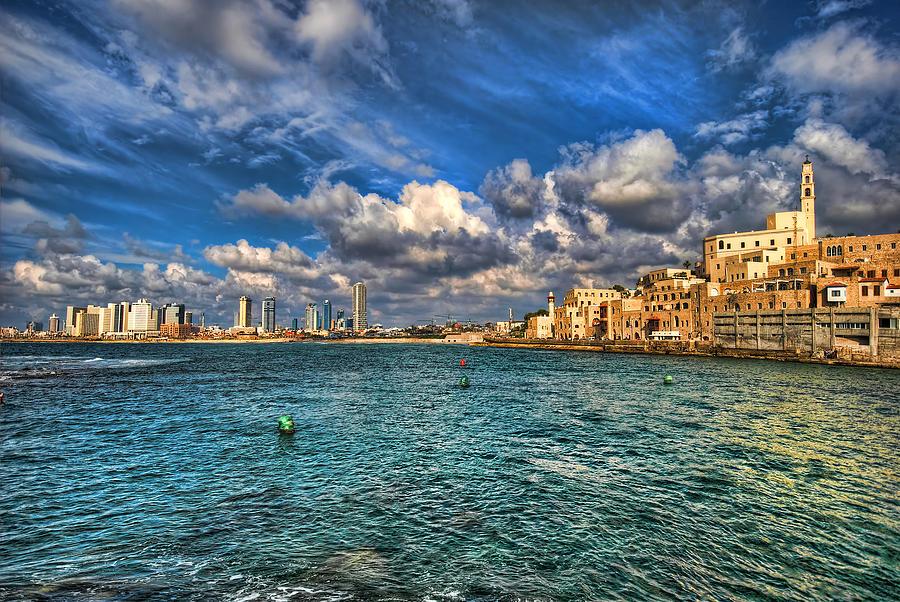 Tel Aviv Jaffa Shoreline Photograph
