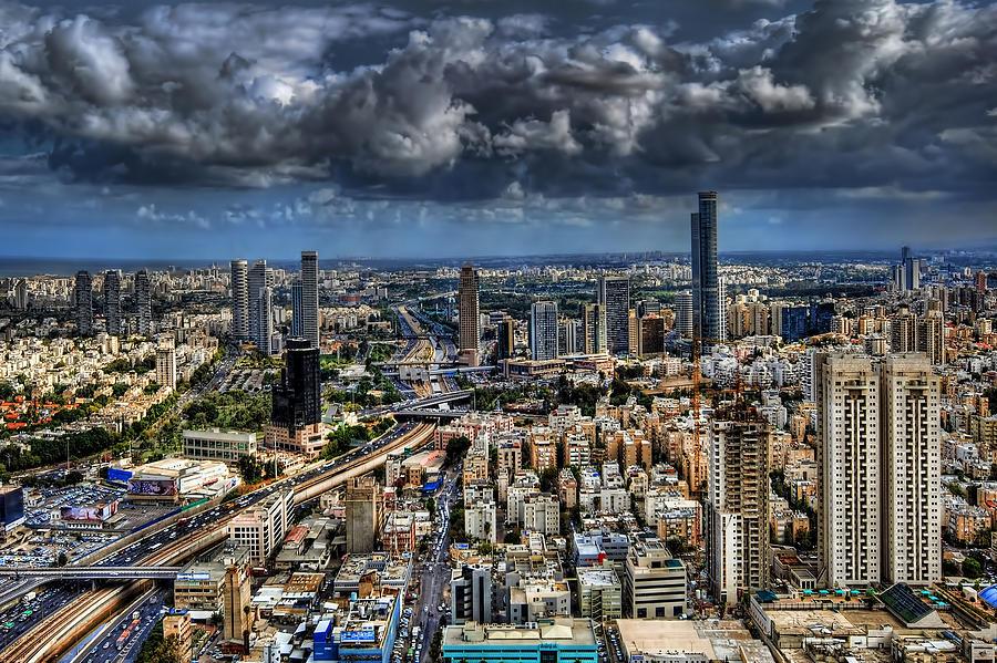 Israel Photograph - Tel Aviv Love by Ron Shoshani