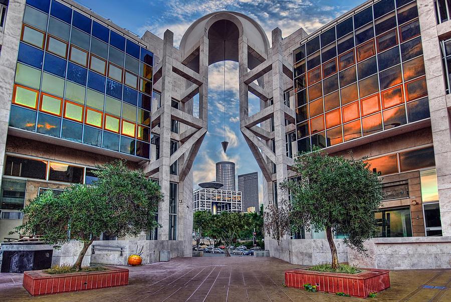 Israel Photograph - Tel Aviv Performing Arts Center by Ronsho