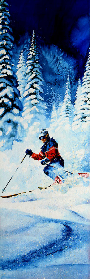 Telemark Trails Painting